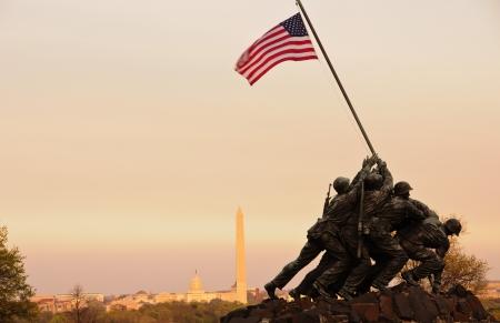 Iwo Jima Memorial, Washington DC photo