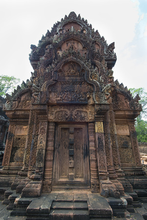 Banteay Srei Temple,part of the Angkor Wat complex, Siem Reap,Cambodia
