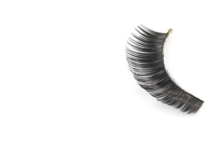 pesta�as postizas: pesta�as postizas negras a trav�s del uso