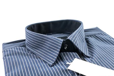 sleeve: Long sleeve shirt for men on white background