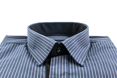 white sleeve: Long sleeve shirt for men on white background