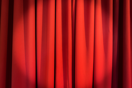 red curtains: Luxury red curtains texture Stock Photo