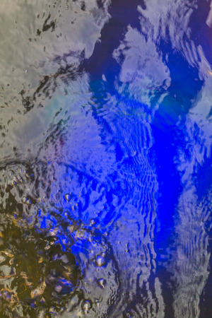 blue background: Light blue, underwater background
