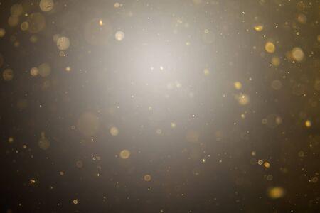 Abstrakte schwarze Bokeh-Verwendung für den Hintergrund