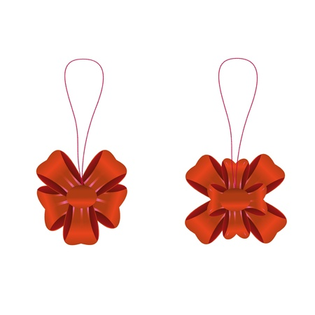 Two bows on a chain