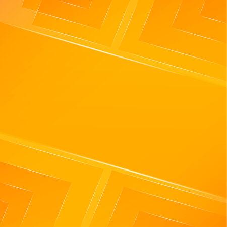 fond abstrait orange: R�sum� fond orange avec la lumi�re Illustration