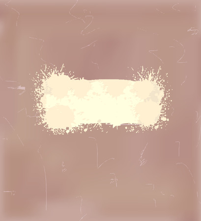 Grunge background with a scuffed brown color Vector