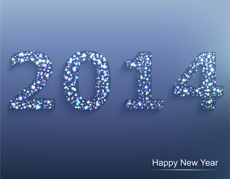 elebration: Happy new year 2014  Ð¡elebration background