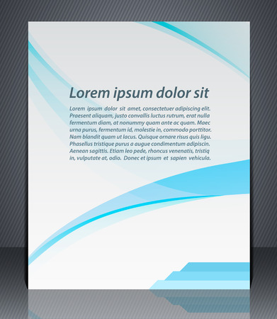 advertisment: Vector layout business brochures, magazine cover, or corporate design template advertisment