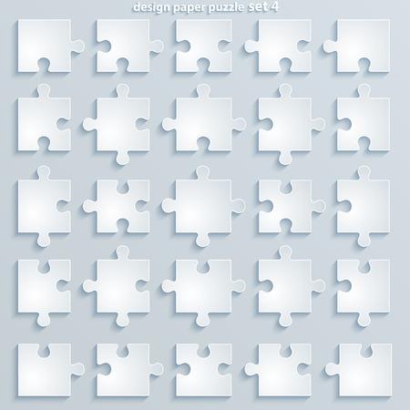 평면 부분은 종이 광장 직소 퍼즐 템플릿 퍼즐