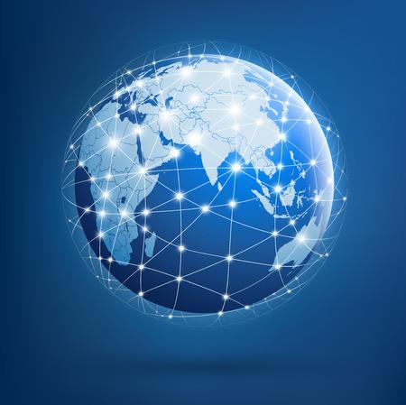 글로벌 네트워크의 지구