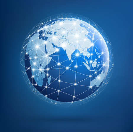energy grid: Earth of global networks
