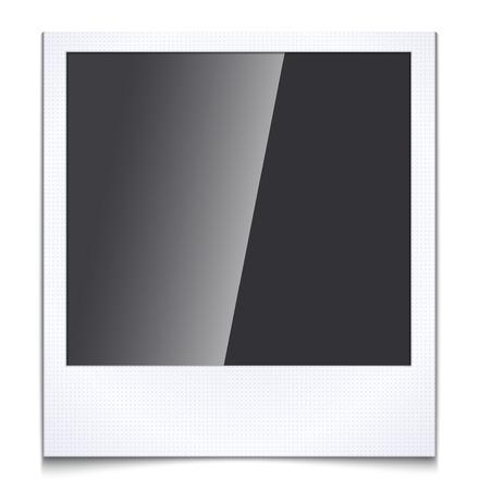 Blank photo frame Illustration