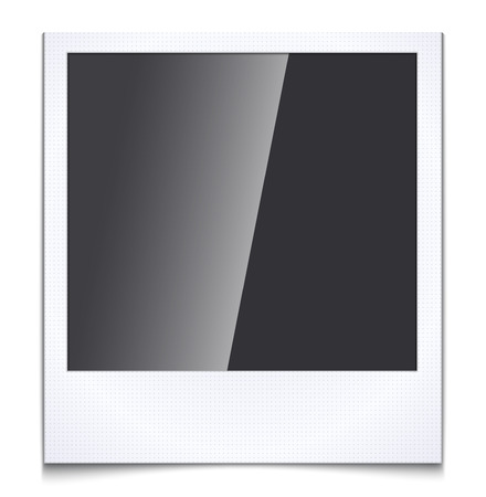 poloroid: Blank photo frame Illustration