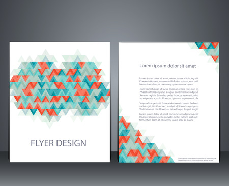 advertisment: Vector layout business flyer, magazine cover, or corporate geometric design template advertisment