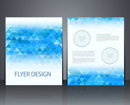 catalogs: layout business flyer