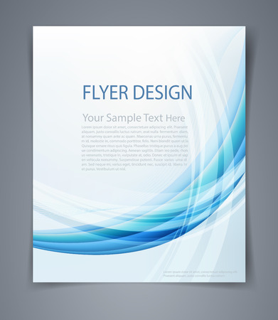 business invitation: layout business flyer
