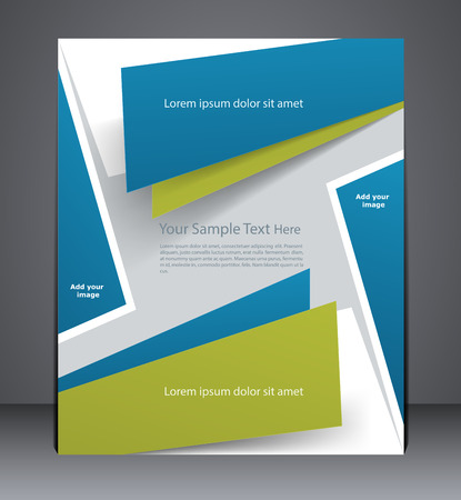 catalogs: Layout business brochure, magazine cover