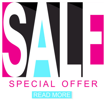 arrival: Sale background. Sale poster seasonal special offer