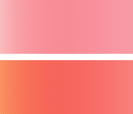 Gradient halftone. Abstract texture in yellow red and soft pink colors. Illustration