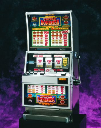 slot machine: Slot Machine Stock Photo
