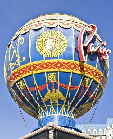 cirque du soleil: Las Vegas Stock Photo