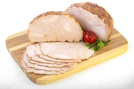 Gesneden Koudgesneden Vlees Stockfoto