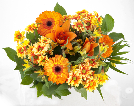 Flower bouquets Reklamní fotografie