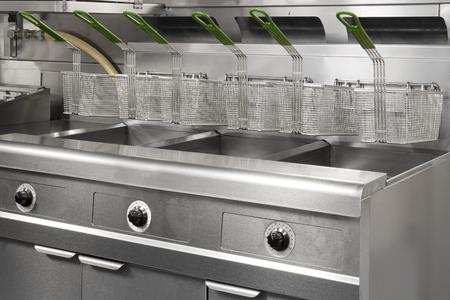 Stainless Steel Commercial Kitchen Reklamní fotografie