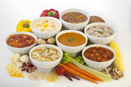 Soup Bowls Reklamní fotografie