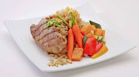 Pork Chops Reklamní fotografie