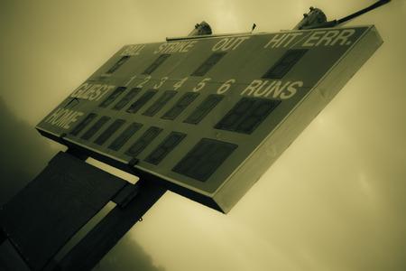 scoreboard 版權商用圖片