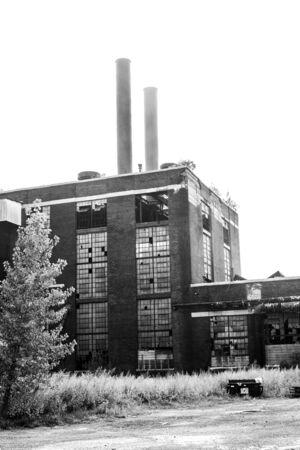 oude fabriek 48.512 Stockfoto