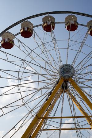 aspect: circus, fun, ride,   close up , macro, aspect, partial, background