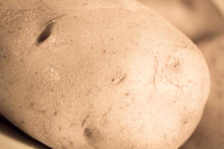 aspect: potatoes, vegetables ,close up , macro, aspect, partial, background Stock Photo