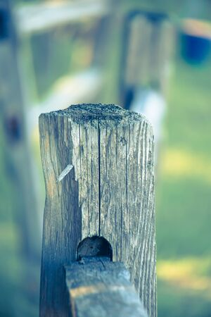 old fence: old fence Stock Photo