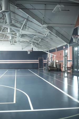 terrain de basket: de basket-ball Banque d'images
