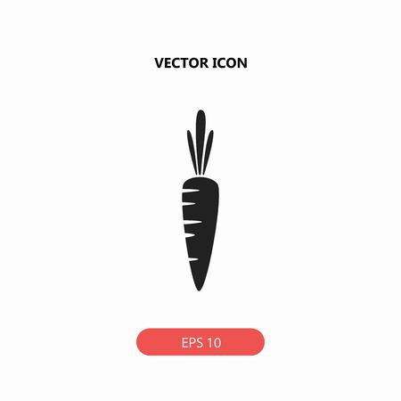 carrot vector icon Çizim