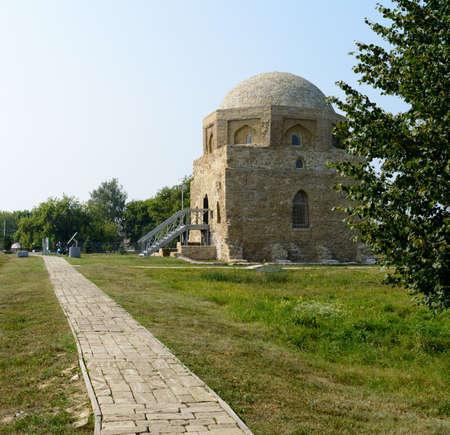 tatarstan: Bolgar city, Tatarstan, Russia - July 26, 2016: Black House
