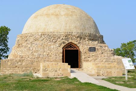 tatarstan: Bolgar city, Tatarstan, Russia - July 26, 2016: Northern mausoleum Editorial