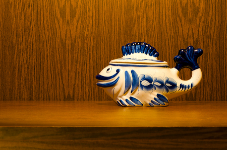 ware: Ware Gzhel in the form of fish