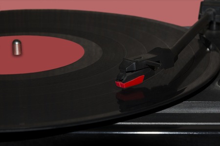 phonograph: Musical track on a vinyl phonograph record