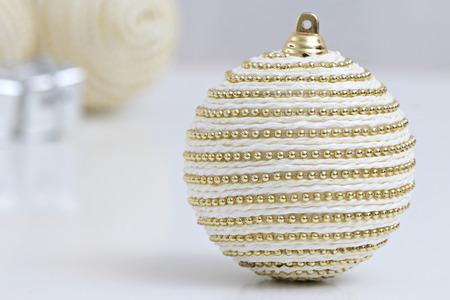 Décoration de boules de noël Banque d'images - 88089757
