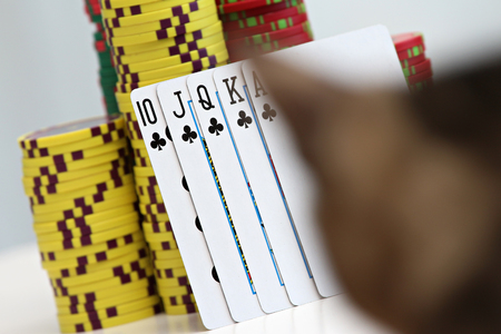 torque: playing cards and poker chips