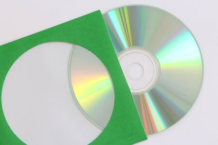 cd rom: close-up on a cd dvd blue ray for data records