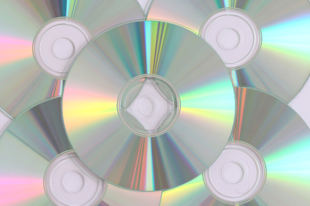 blue ray: close-up on a cd dvd blue ray for data records