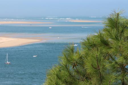 sandbank of bassin arcachon Banque d'images - 87943927