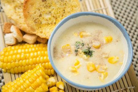 Crème maïs soep