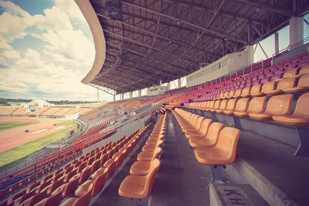 Stadium and seat