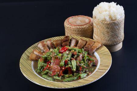 somtum: Famous Thai food, papaya salad or what we called Somtum in Thai